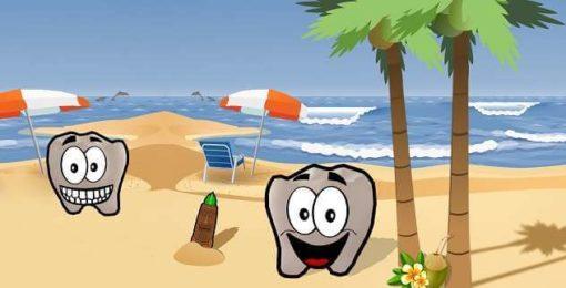 Urlaub für die Zähne