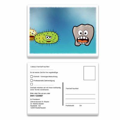recallkarte bakterien