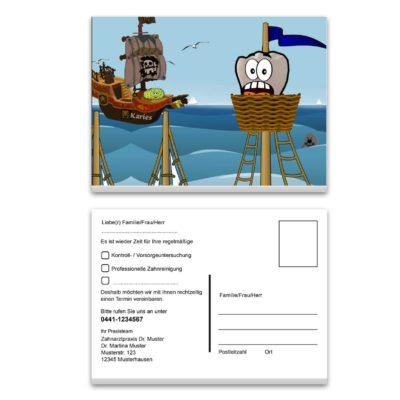 recallkarte pirat