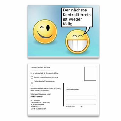 recallkarte smile