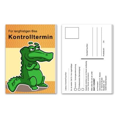 recallkarten krokodil