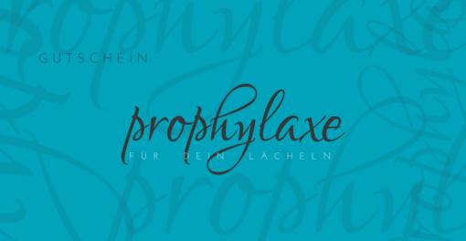 Gutschein Prophylaxe