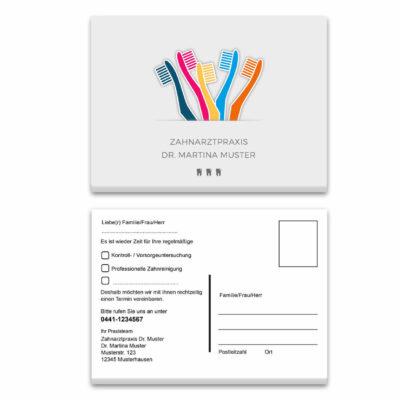recallkarte buersten individuell Kopie