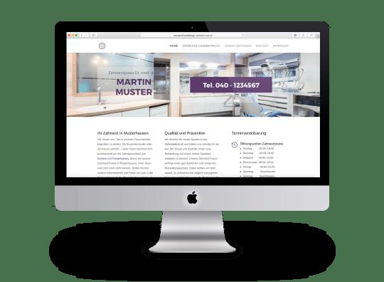 Webdesign Beispiel 4