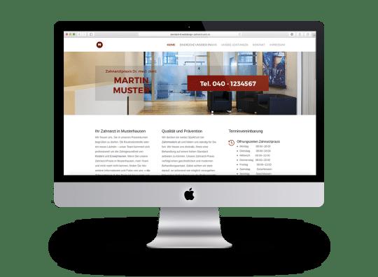 Webdesign Beispiel 6