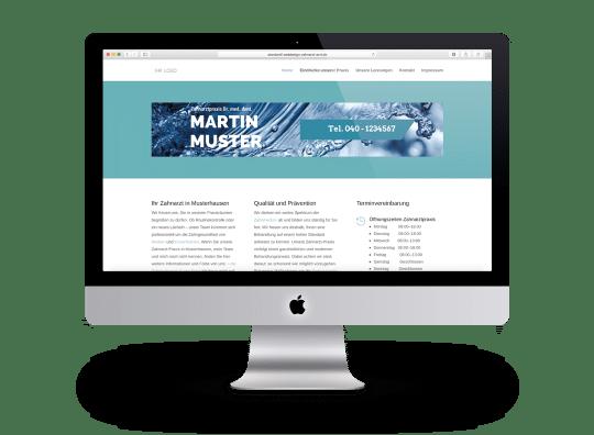 Webdesign Beispiele 1