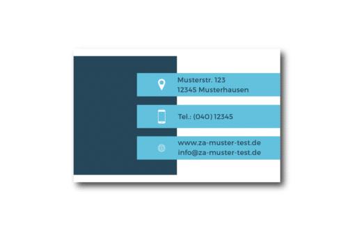 Visitenkarte darkblue dateseite 01