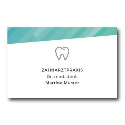 Zahnarzt Visitenkarten Praxisdesign Works