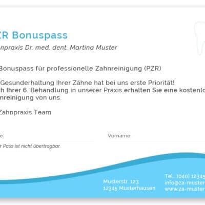 PZR bonuspass blau quer