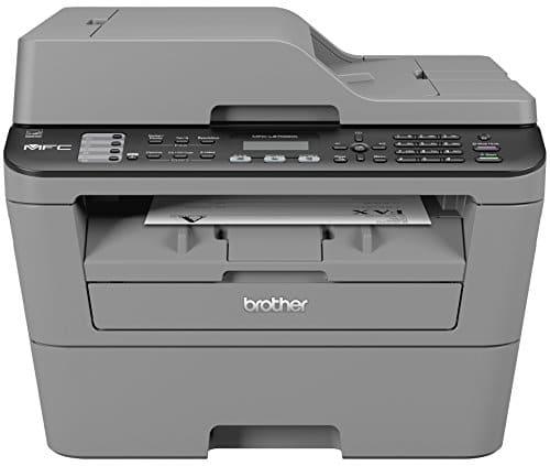 Brother MFC L2700DW Monolaser Multifunktionsgert Drucker Kopierer Scanner Fax 2400 x 600 dpi USB 20 0