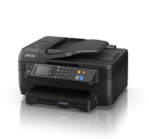 Epson WorkForce WF 2660DWF 4 in 1 Multifunktionsdrucker Drucken scannen kopieren faxen Duplex WiFi Dokumenteneinzug schwarz 0 0