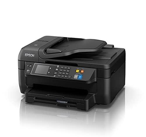 Epson WorkForce WF 2660DWF 4 in 1 Multifunktionsdrucker Drucken scannen kopieren faxen Duplex WiFi Dokumenteneinzug schwarz 0 2