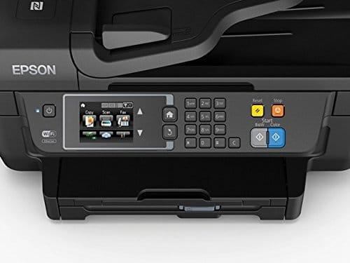 Epson WorkForce WF 2660DWF 4 in 1 Multifunktionsdrucker Drucken scannen kopieren faxen Duplex WiFi Dokumenteneinzug schwarz 0 3