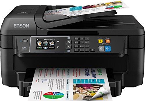 Epson WorkForce WF 2660DWF 4 in 1 Multifunktionsdrucker Drucken scannen kopieren faxen Duplex WiFi Dokumenteneinzug schwarz 0