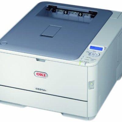 OKI C531dn LED Duplex Farblaserdrucker A4 1200 x 600 dpi 0
