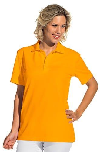clinicfashion Polo Shirt Unisex fr Damen und Herren mango Baumwolle Gre XS XXXL 0