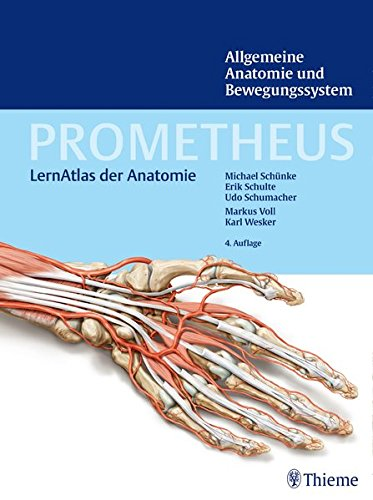 Allgemeine Anatomie und Bewegungssystem Prometheus LernAtlas der Anatomie 0