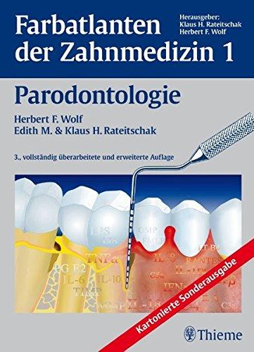 Band 1 Parodontologie Farbatlanten der Zahnmedizin Reihe FA DER ZAHNMEDIZIN 0
