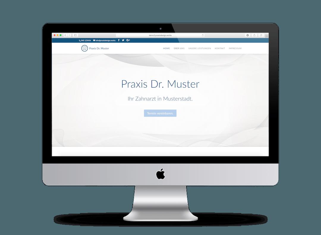 Webdesign Beispiel