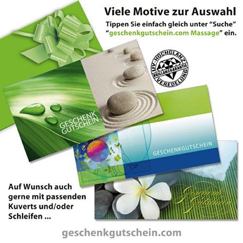 50 Stk Geschenk Gutscheine MA1235 fr Massage Physiotherapie Spa und Wellness 0 0