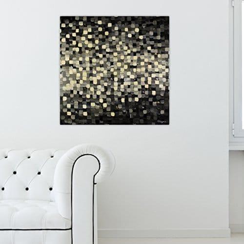 kunstloft acryl gemlde pixel art 80x80cm original. Black Bedroom Furniture Sets. Home Design Ideas