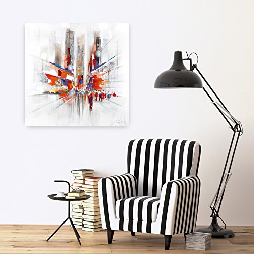 kunstloft acryl gem lde 39 realit tsverlust 39 80x80cm. Black Bedroom Furniture Sets. Home Design Ideas