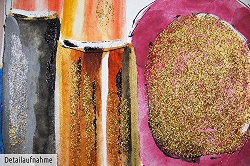 Kunstloft acryl gem lde 39 vor dem gro en auftritt 39 50x50cm original handgemalte leinwand - Handgemalte bilder auf leinwand ...