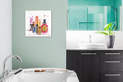 kunstloft acryl gem lde 39 vor dem gro en auftritt 39 50x50cm. Black Bedroom Furniture Sets. Home Design Ideas