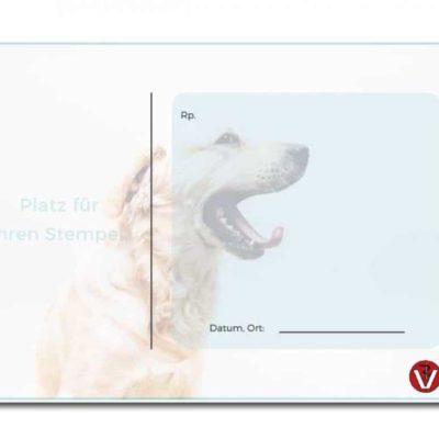 rezeptblock tierarzt labrador standard