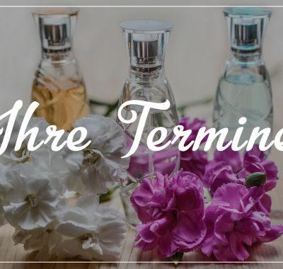 terminkarte kosmetik perfume
