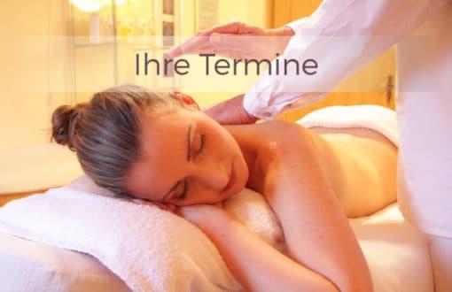 terminkarten masseure entspannung
