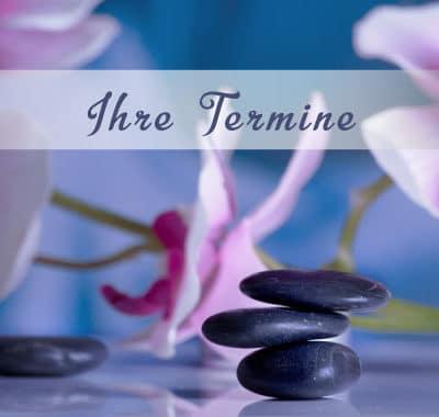 terminkarten masseure sanfte therapie