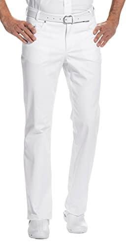 clinicfashion Jeans Arzthose Herren wei Normal Kurz und Langgre Baumwolle Stretch Gre 44 64 0