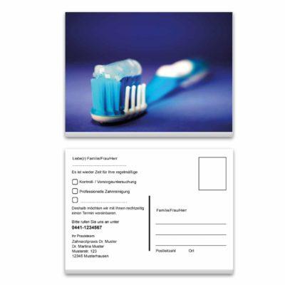 recallkarte blau