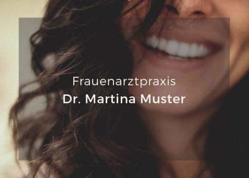 recallkarte frauenarzt smile beidseitig individualisiert 01