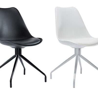 CLP Wartezimmer Stuhl SPIDER exklusives Design Materialmix aus Kunststoff Kunstleder und Metall 0