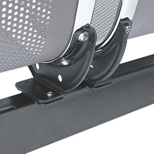 primematik bank f r wartezimmer mit 4 ergonomisch st hlen silber. Black Bedroom Furniture Sets. Home Design Ideas
