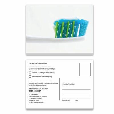 recallkarte blue brush