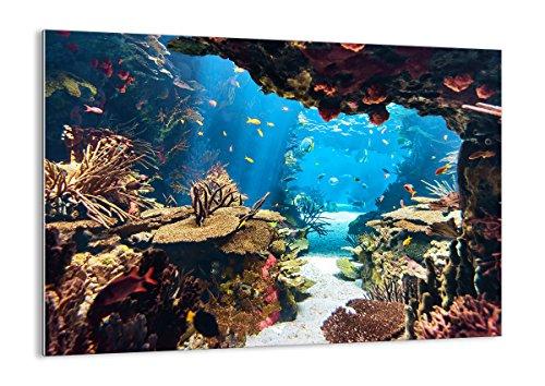 ARTTOR Glasbilder Wohnzimmer Modern und Wandbilder Schlafzimmer Dekoration Wohnung Wand Bilder auf Glas in vielen Groessen GAA 2872 0 8