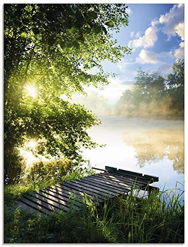 Sergii Angelsteg am Fluss am Morgen 0 2
